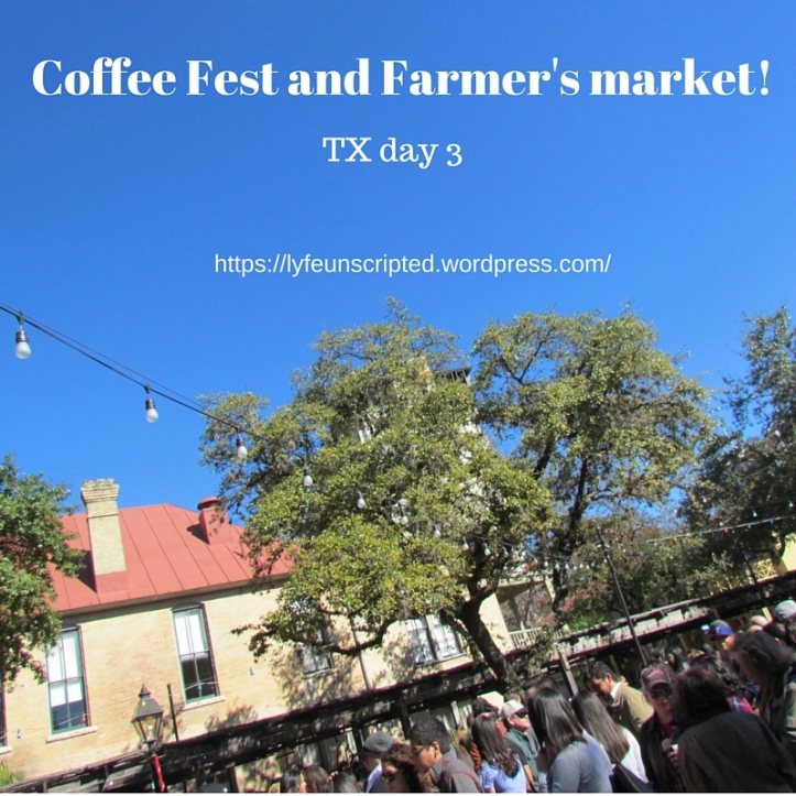 Coffee Fest and Farmer's market!